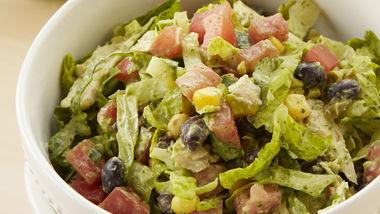 Southwest Chicken Salad with Creamy Cilantro Dressing