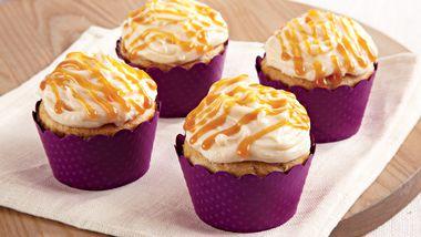 Caramel Cinnamon Cupcakes