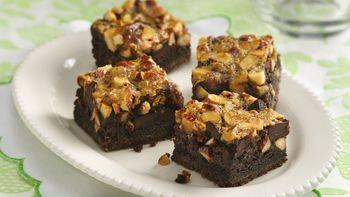 Chunky Chocolate and Almond Bars