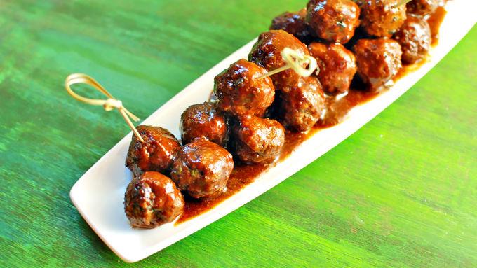 Easy Root Beer BBQ Meatballs