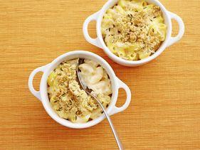 Macarrones libres de gluten con queso