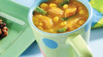 Pumpkin and Sausage Stew