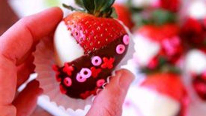Black and White Strawberries