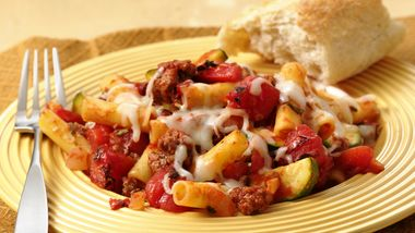Baked Ziti with Fire Roasted Tomatoes