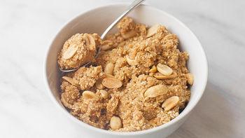 Peanut Butter Eggless and Flourless Cookie Dough