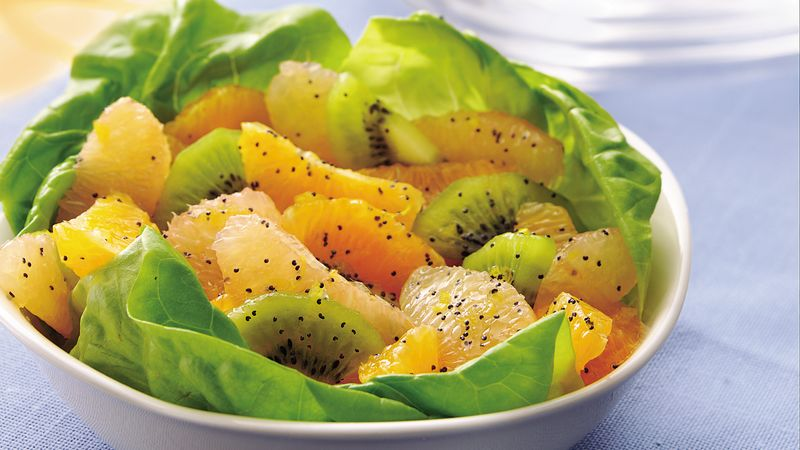 Citrus Salad with Poppy Seed-Honey Dressing