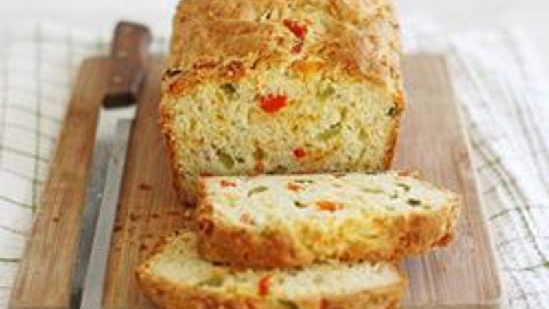 Cheesy Pepper Bread