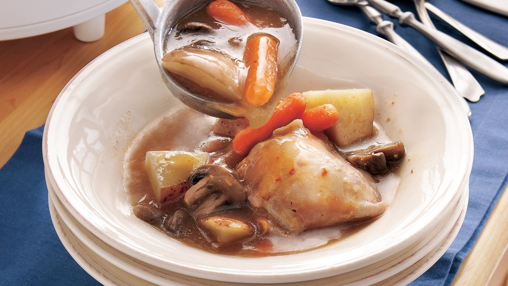 Slow-Cooker Chicken Stew