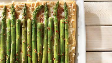 Ham and Asparagus Squares