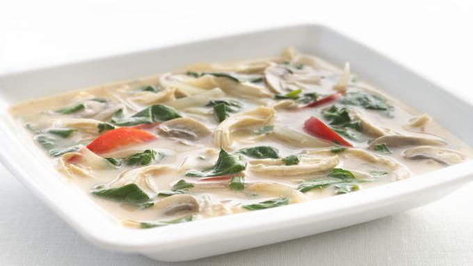 Skinny Thai Chicken Soup