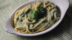 Artichoke-Cilantro Pasta