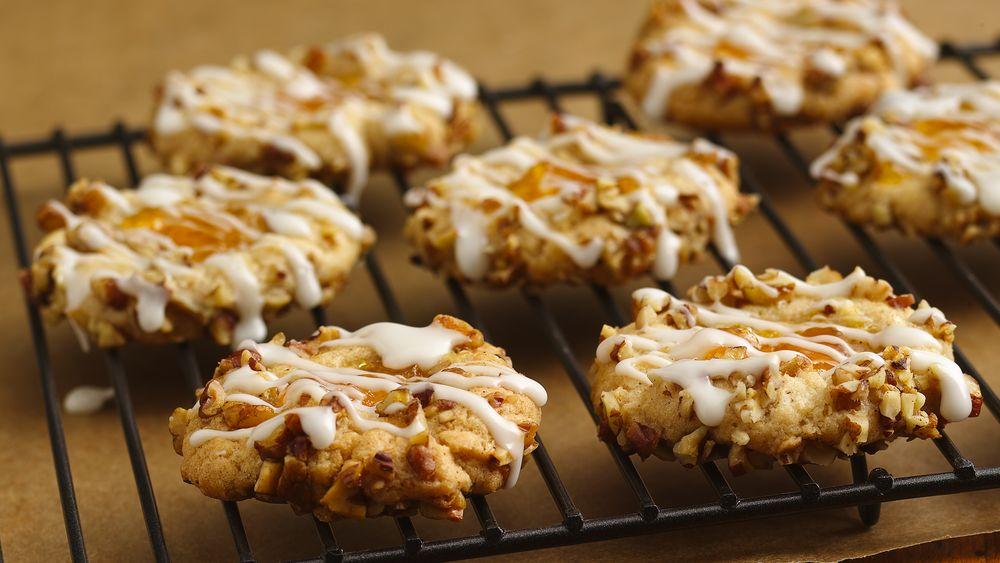 Peach-Pecan Thumbprint Cookies
