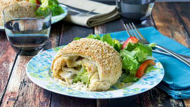 Crispy Broccoli and Cheese Chicken Pockets