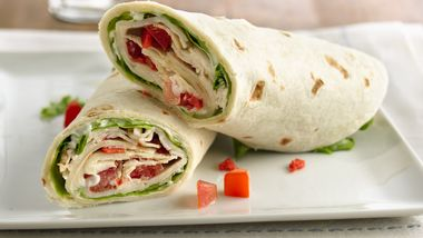 Chicken BLT Wraps with Aioli