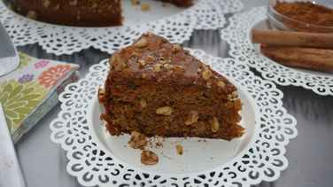 Indian Cinnamon-Carrot Cake
