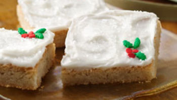 Quick Holiday Cookie Bars