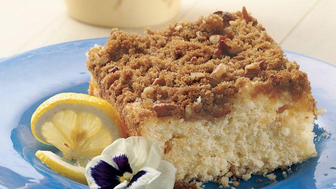 Overnight Lemon Country Coffee Cake