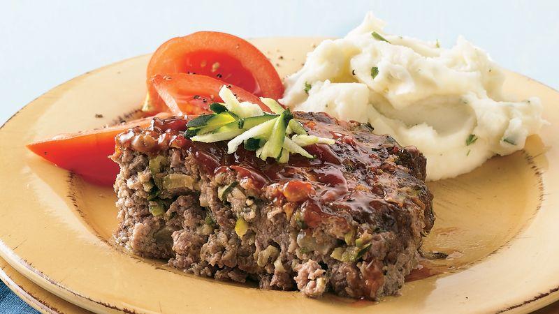 Zucchini Meatloaf