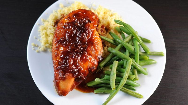 Slow-Cooker Apricot Glazed Chicken
