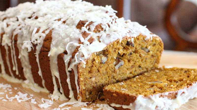 Coconut-Pumpkin Bread