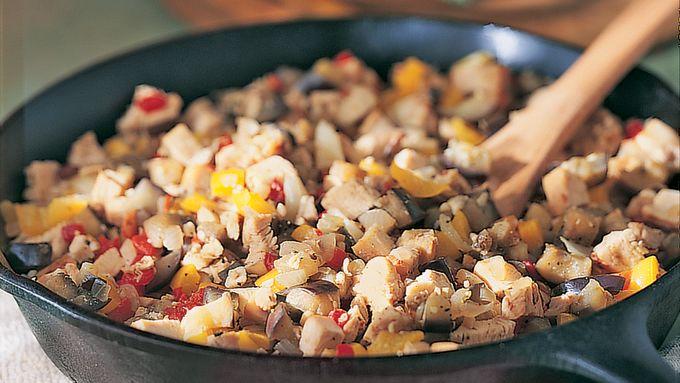 Chicken-Vegetable Toss