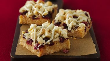 Cranberry-Macadamia Bars