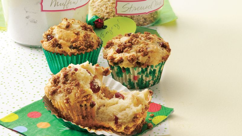 Granola Streusel Cranberry Muffin Mix