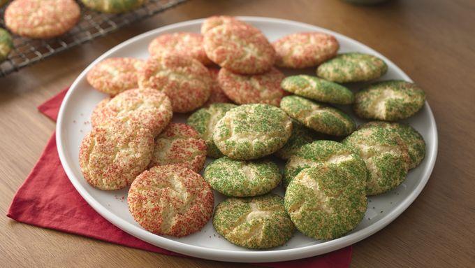 Christmas Snickerdoodles (Cookie Exchange Quantity)