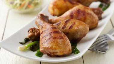 Grilled Asian Chicken Drumsticks
