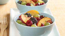 Gluten-Free Refreshing Ginger Fruit Salad