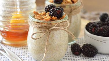 Quínoa con Granola Nature Valley™ para el Desayuno