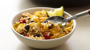 One-Pan Black Beans, Chicken and Rice