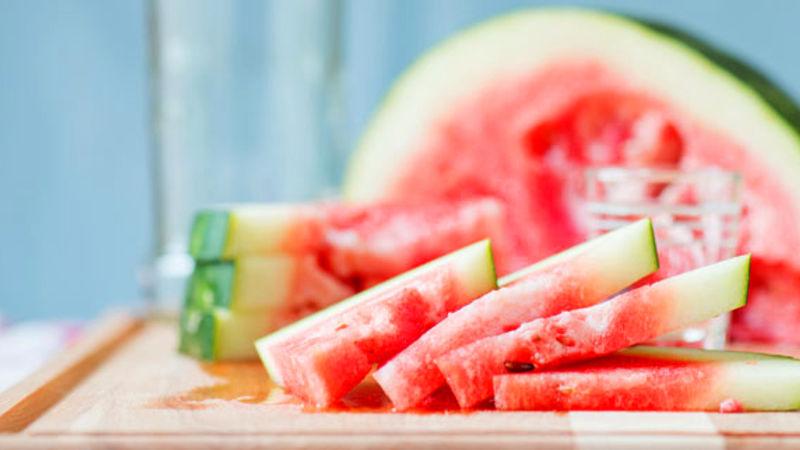 Vodka-Infused Watermelon