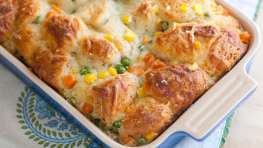 Cheesy Biscuit Casserole