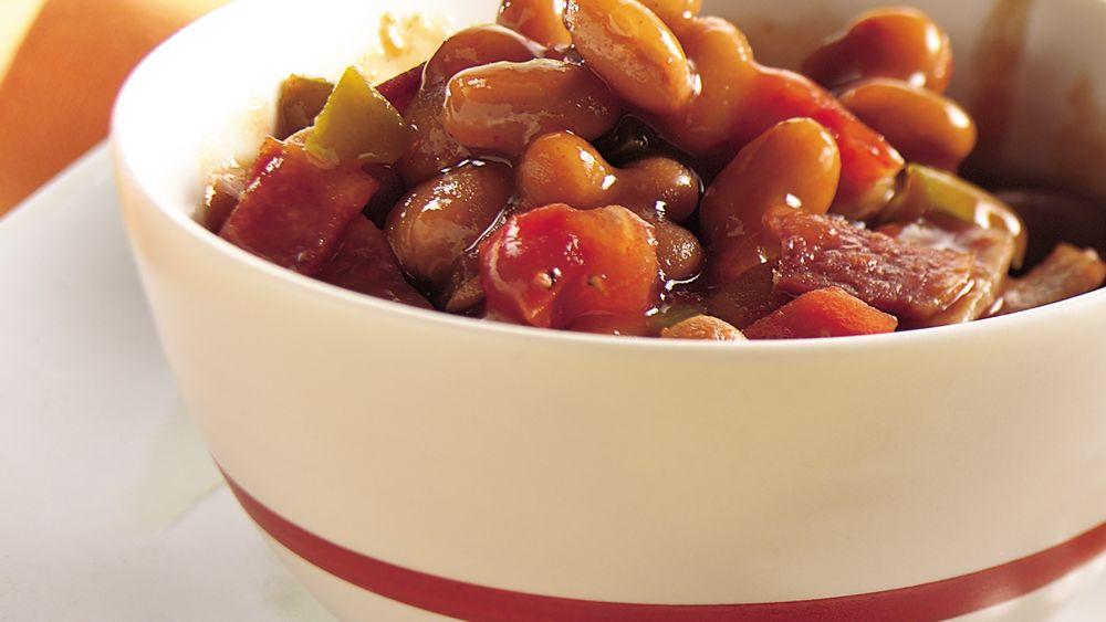 Smoky Stove-Top Beans