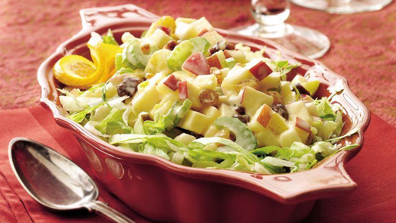 Gluten-Free Winter Fruit Waldorf Salad