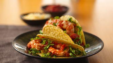 Salsa-Shrimp Tacos
