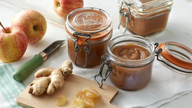 Slow-Cooker Double Ginger Apple Butter