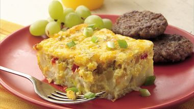 Green Chile, Egg and Potato Bake