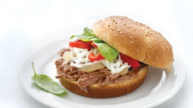 Skinny Italian Beef Sandwiches