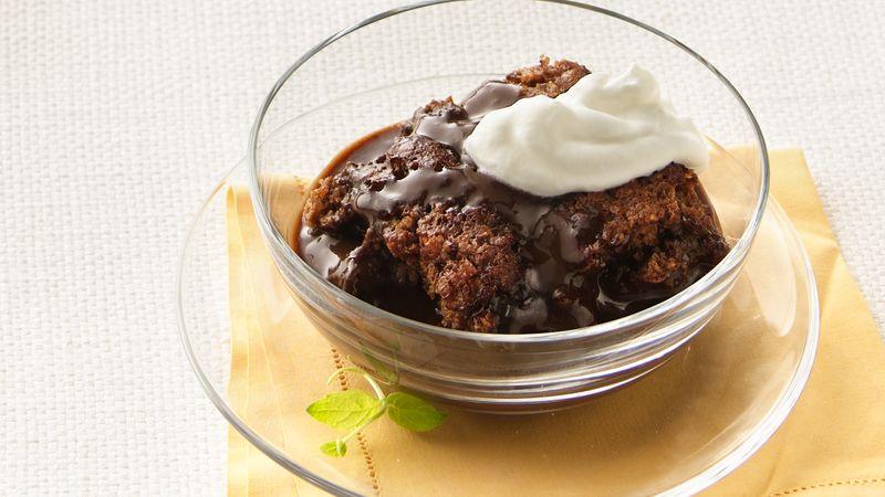 Chocolate-Hazelnut Pudding Cake