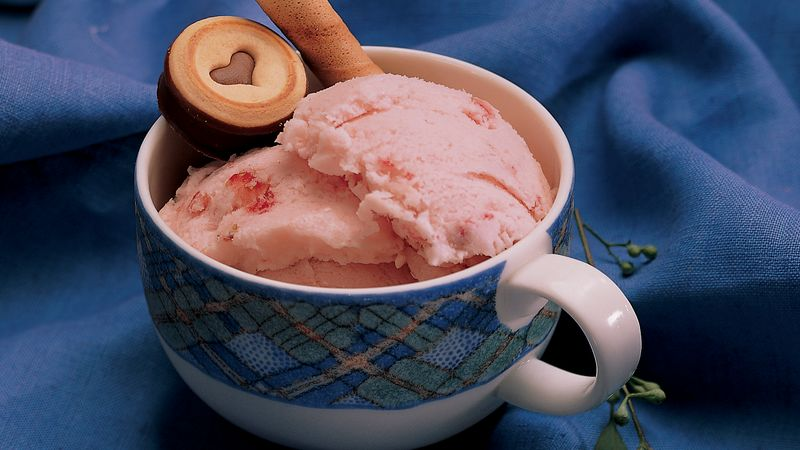 Very Berry Frozen Yogurt