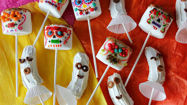 Marshmallow Skulls and Banana Ghosts