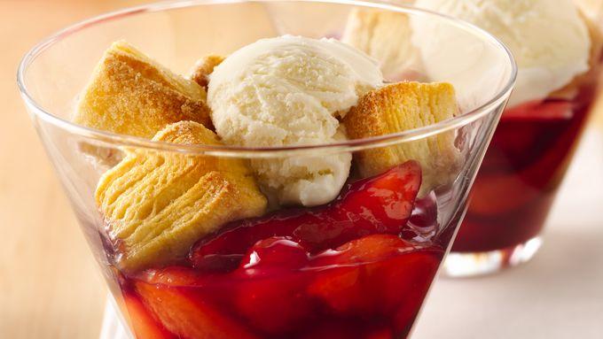 Cherry-Peach Biscuit Cobbler