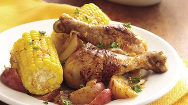 Home-Style Chicken and Corn
