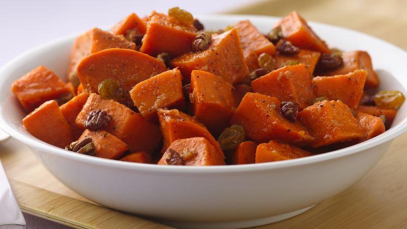 Sweet Potato Salad with Orange-Ginger Dressing