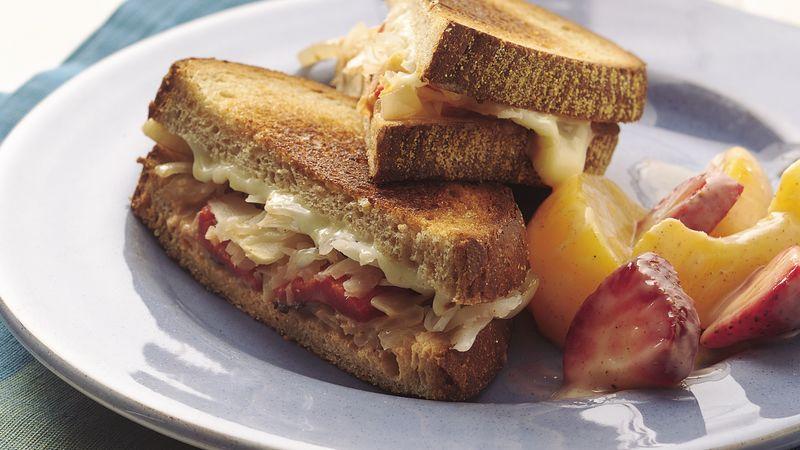 Vegetarian Reuben Sandwiches