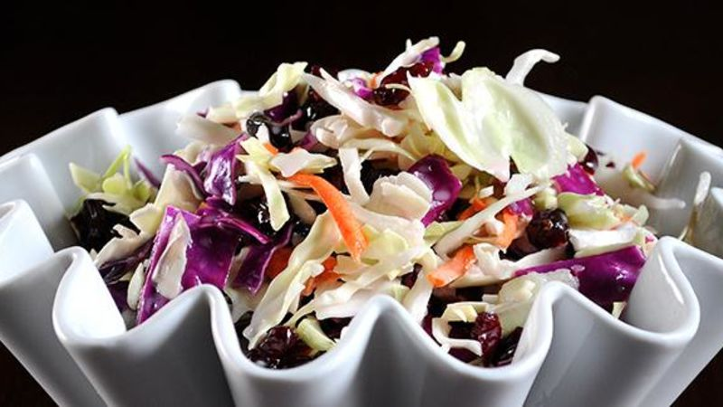 Colorful Cranberry Coleslaw