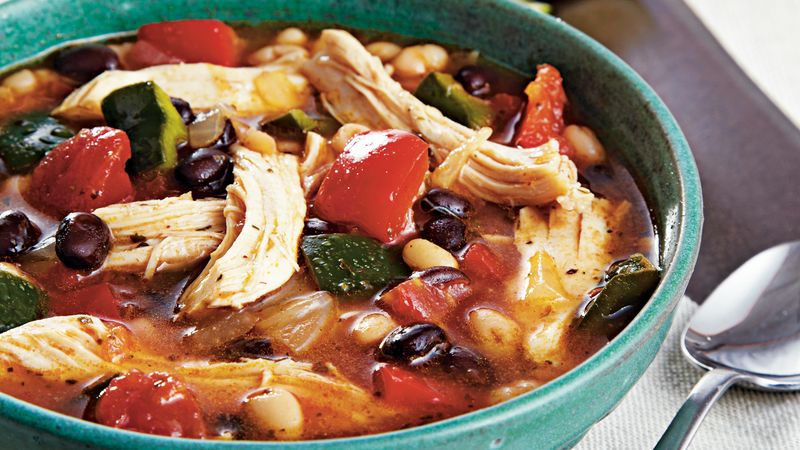 Zesty Chicken Chili