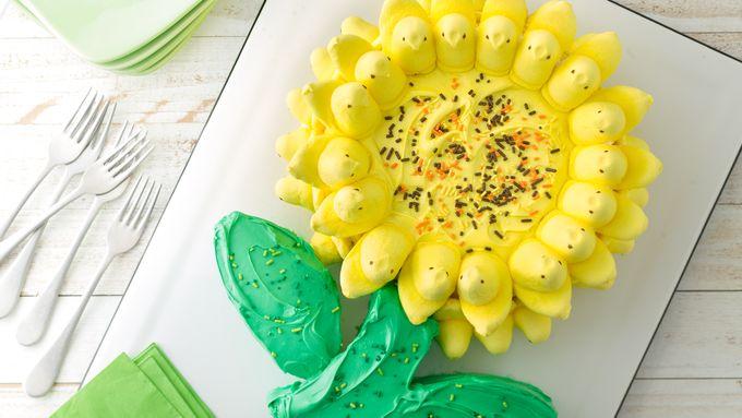 PEEPS® Flower Cake